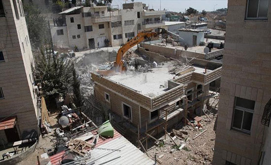 الجيش الإسرائيلي يشرع في إجراءات لهدم منزل فلسطيني بالضفة