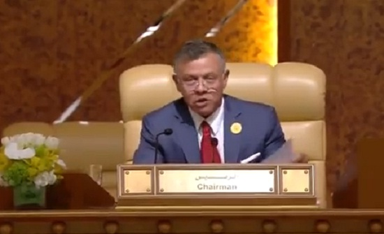 بالفيديو :  كلمة  الملك الافتتاحية في اعمال مجلس جامعة الدول العربية