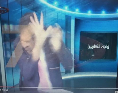 بالفيديو : مشاجرة على قناة اردنية