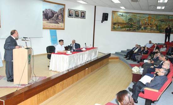 """""""الأردنية"""" تستضيف خبيرا كوريا يعرض للتجربة الكورية في التنمية الاقتصادية والصناعية"""