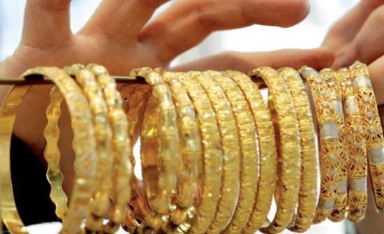 غرام الذهب يرتفع نصف دينار في أسبوع