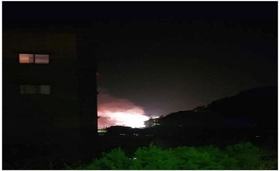 سوريا.. أصوات انفجارات تهز محيط دمشق وريف حمص الغربي (صور + فيديو)