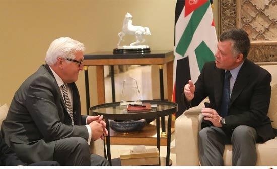 الرئيس الألماني يصل إلى عمان في زيارة رسمية