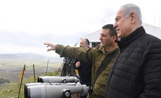 نتنياهو يزور مرتفعات الجولان..ويحذر أعداء إسرائيل