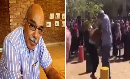 فيديو صادم| رئيس جامعة يعتدي على طالبتين في السودان!