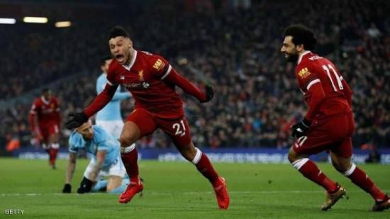 ليفربول يلحق الخسارة الأولى بمانشستر سيتي