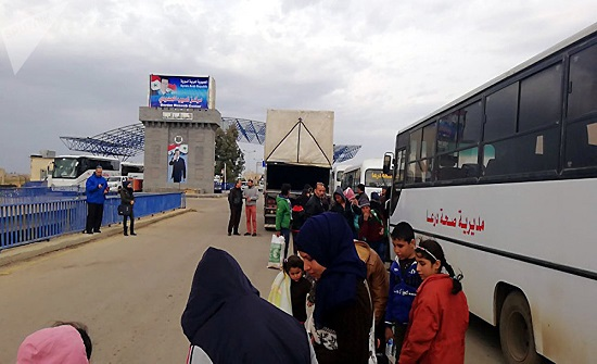 عودة 1197 لاجئا سوريا من الأردن خلال 24 ساعة