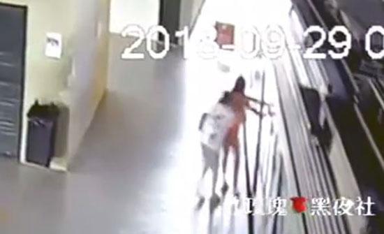 لقطات مرعبة لمصرع امرأة تحت عجلات قطار (فيديو)