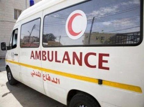 إصابة 9 شخص اثر حادث تصادم في العدسية