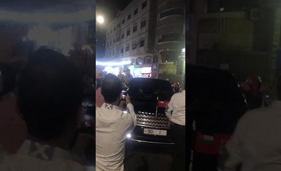 فيديو .. شاهد استقبال اللواء يوسف الحنيطي من قبل اهله وعشيرته