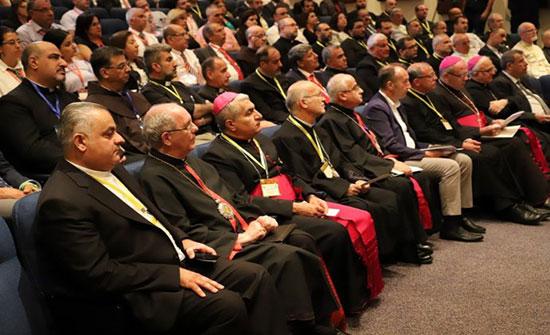 انطلاق مؤتمر محاميي المحاكم الكنسيّة