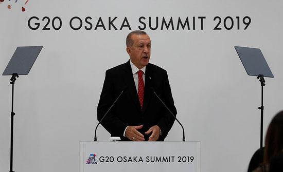 """أردوغان يهاجم السيسي من منبر قمة """"G20"""" ويدعو لتحقيق شامل في وفاة مرسي"""