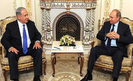 نتنياهو يطلع بوتين على تفاصيل الحملة العسكرية عند حدود لبنان