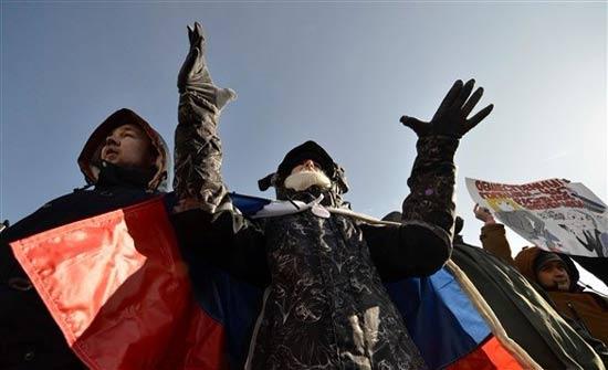 روسيا: احتجاج للمعارضة ودعوات لمقاطعة الانتخابات الرئاسية