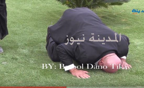 بالفيديو : عطية يسجد ويبكي بعد فوز شقيقه خميس بموقع النائب الأول