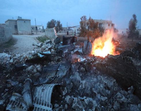 روسيا تثأر لطيارها بقصف إدلب.. وسعي للوصول إلى جثته