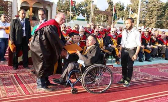 ثلاثون طالبا من ذوي الإعاقة يسطرون تاريخهم بحروف من ذهب