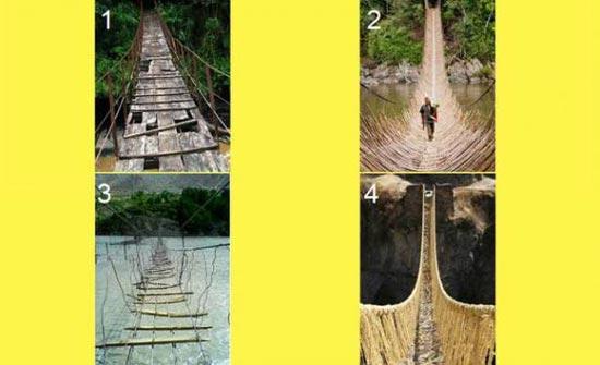 إختبري شخصيتك.. ما هو الجسر الأخطر؟