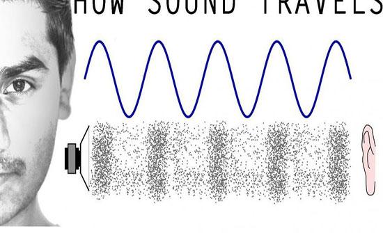 كيف يحدث انتقال الصوت