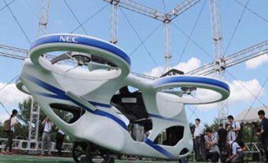 صور : كيف سيكون شكل السيارات بالمستقبل؟ شركة يابانية تعرض سيارة طائرة..