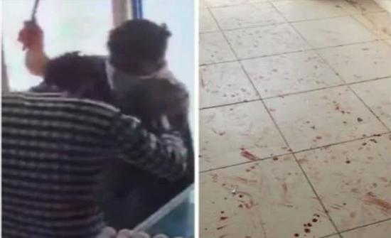 شاهد: سطو مسلح على بقالة في  السعودية