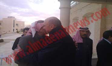 صور من وليمة الفايز لرئيس النواب العراقي