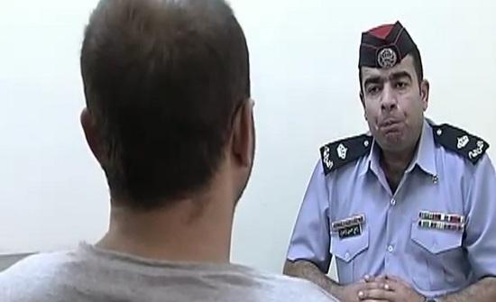 بالفيديو والصور :  لقاء مع منفذ عملية السطو على احد بنوك عمان