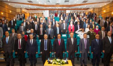 """افتتاح """"مؤتمر إطار المؤهلات الوطني للتعليم العالي"""" في جامعة الأميرة سمية للتكنولوجيا"""