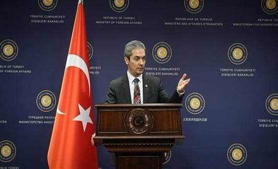 """أنقرة تعتبر تصريحات فرنسا حول العملية التي تشنها في سوريا """"لا أساس لها"""""""