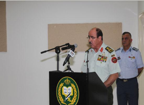 افتتاح دورتي الدفاع الوطني والحرب في كلية الدفاع الوطني الملكية الأردنية
