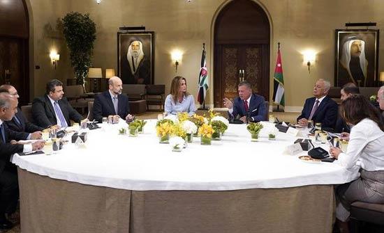الملك يترأس اجتماعا لمتابعة تنفيذ استراتيجية تنمية الموارد