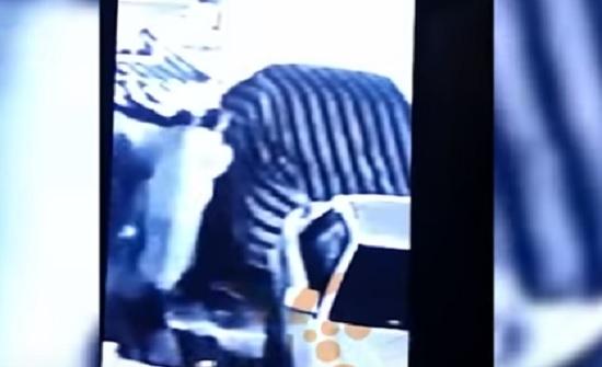 بالفيديو : خطف طفل في البصرة