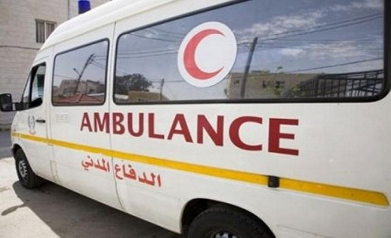 إجراء عملية ولادة داخل سيارة إسعاف الدفاع المدني بمادبا