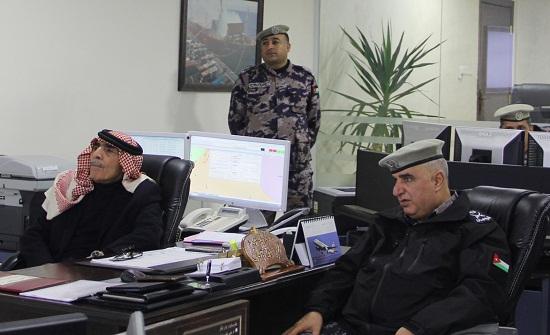 وزير الداخلية يطمئن على إجراءات الدفاع المدني في الظروف الجوية السائدة
