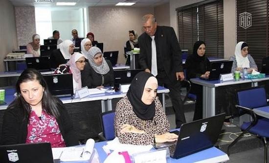 """""""أبوغزاله"""" و""""أروقا"""" يختتمان برنامج تدريب """"مقيم ضمان الجودة في التعليم"""""""
