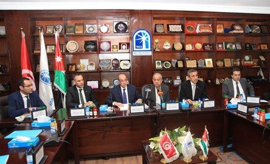 وزير الصناعة يدعو لتعزيز التعاون الاقتصادي الاردني التونسي