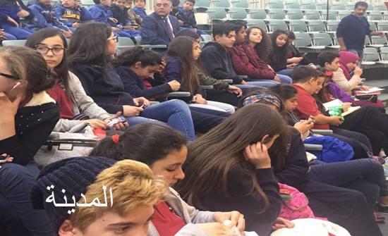 مدارس الجامعة الامريكية في زيارة لمجلس النواب..(صور)
