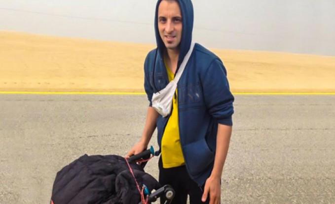 بالفيديو: شاب يمشي من فرنسا للسعودية ليؤدي العمرة