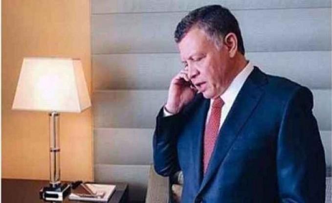 الملك يطمئن هاتفياً على صحة أمير دولة الكويت