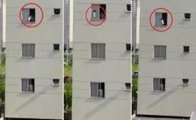 زوجان يسقطان من الطابق التاسع أثناء العلاقة