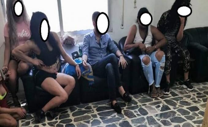 شاهدوا الصور : القبض على مثليين في حفل بالشونة الجنوبية