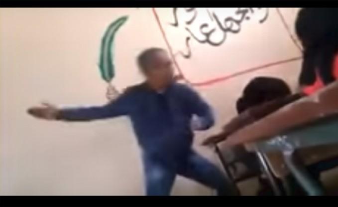 بالفيديو : مدرّس يتعدّى على طالبة بالضرب في المغرب