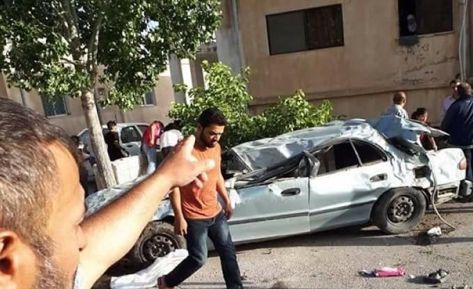 بالصور : وفاة واصابة اثر حادث سير في السلط