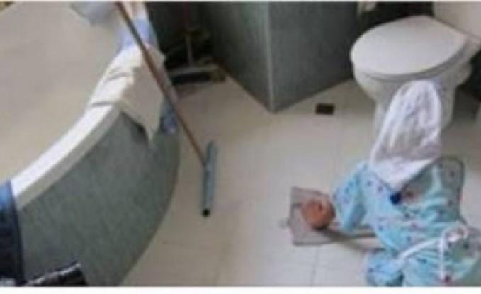 لاحظت أن خادمتها تتاخر فى الحمام...وضعت لها كاميرات مراقبة...فاكتشفت المفاجأة الصادمة!!