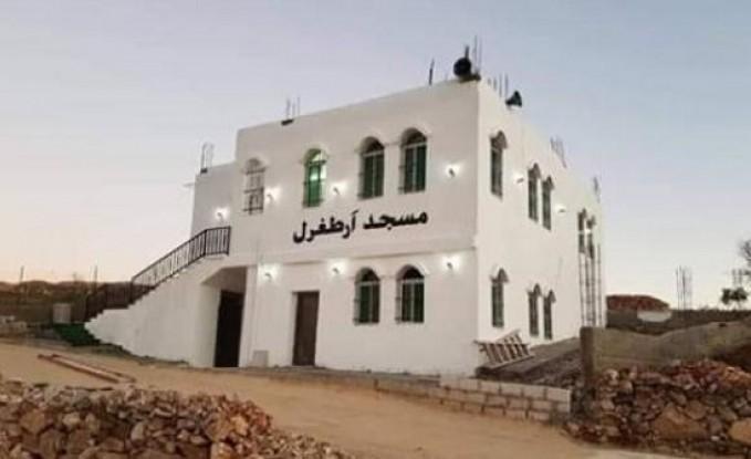 """جرش : """" مسجد أرطغرل """"  يثير الجدل بين الاهالي"""
