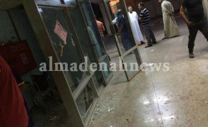 """اضراب اطباء وممرضي """" الرمثا الحكومي """" بسبب """" الزعران """""""
