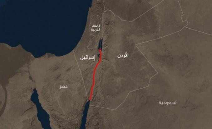 """إعلام: لقاء سري إسرائيلي أردني لبحث مشروع """"قناة البحرين"""""""