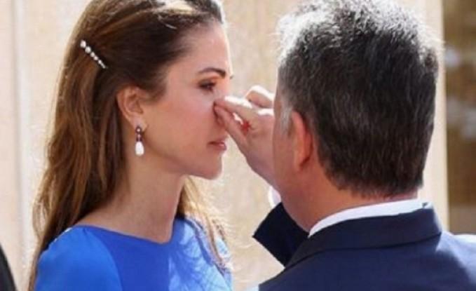 الملكة رانيا : كل عام و قائدنا وحامي بلدنا بألف خير