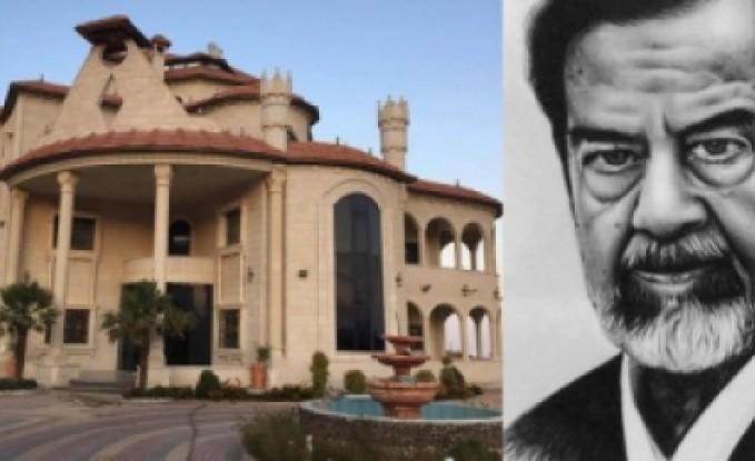 """[شاهد] فلسطيني يطلق على قصره اسم """"صدام حسين"""" ويقيم الولائم عن روحه سنوياً"""