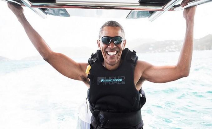أوباما يرقص في بلده الأصلي (فيديو)